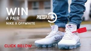 WIN a Pair Off White
