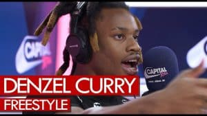 Denzel Curry freestyle! Goes hard on Scarface & Wu Tang beats