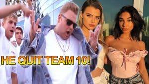 Jake Paul's Team 10 Leader RESIGNS! Alissa Violet vs Chantel Jeffries, IRL Streamer Drama (Footage)