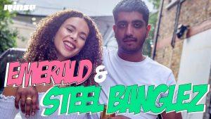 Steel Banglez with Emerald: Kazoo Challenge