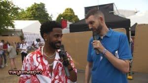 Big Sean making new music in London – backstage Wireless 2018