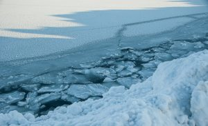 Arctic's oldest and thickest sea ice breaks for first time