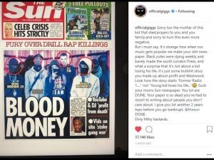 Giggs goes at The Sun for their recent frontpage | @MalikkkG