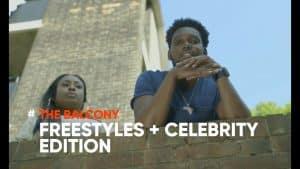 REPDAT TV THE BALCONY   FREESTYLE + CELEBRITY EDITION: SBTV