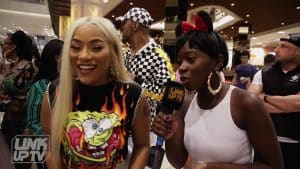 Stefflon Don – Oochy Wally Freestyle (Behind The Scenes) @stefflondon | Link Up TV