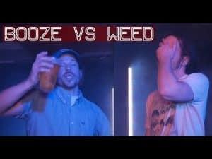 BOOZE VS WEED [By J Dillon] | Don't Flop Rap Battle