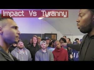 IMPACT VS TYRANNY | Don't Flop Rap Battle