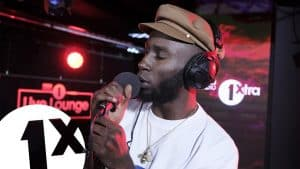 Kojey Radical 97′ in the BBC 1Xtra Live Lounge