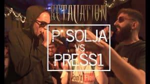P SOLJA VS PRESS1 [On-Beat Title Match]   Don't Flop Rap Battle