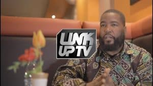 Dr. Umar Johnson Talks about Stormzy, Drill Music, ADHD and School for Black Boys | Link Up TV