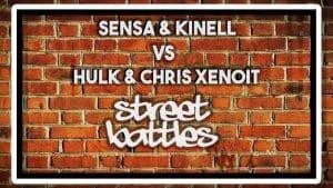 SENSA & KINELL VS HULK & CHRIS XENOIT | Don't Flop Rap Battle