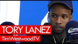 Tory Lanez on 6IX9INE, Trippie Redd, Joyner Lucas, Love Me Now, being hottest out – Westwood