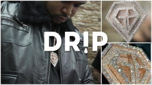Corleone's Iced Out GB Records Pendant – #Drip Ep.5 | Link Up TV