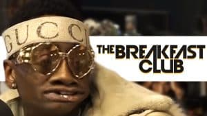 Soulja Boy Loses His Cool on The Breakfast Club
