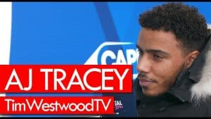 AJ Tracey on new album, goat cover, Cadet passing away, Giggs, his style, tour – Westwood