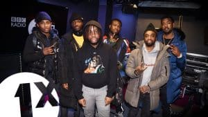 NSG & The Compozers – Skin Tight in the 1Xtra Live Lounge