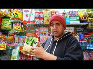 Chinese Snacks Taste Test With Angry Shopkeeper [Science 4 Da Mandem]