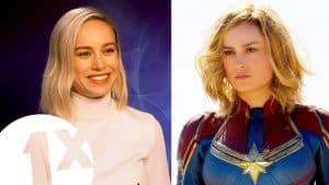 """Fake it till you make it!"" Captain Marvel's Brie Larson on living life as a superhero."