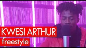 Kwesi Arthur freestyle – Westwood Crib Session