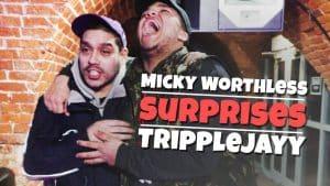 Micky Worthless surprises his Shrewsbury opponent TrippleJayy | Don't Flop Media