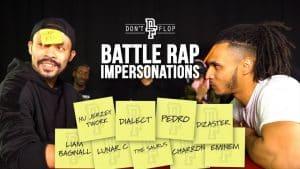 Battle Rap Impersonations   Episode 1 – Danny Jaqq Vs Impact   Don't Flop TV