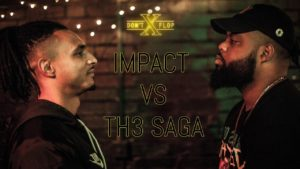 IMPACT VS TH3 SAGA | Don't Flop Rap Battle