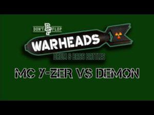 MC Y-ZER VS DEMON   Don't Flop Drum & Bass Battle