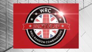 Don't Flop: WRC | Sat 15 Jun | Video Flyer