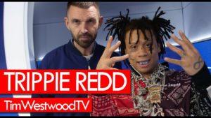 Trippie Redd w/ full box of Ice! Talks new girl, XXXTentacion, new music – Westwood
