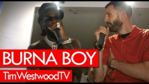 Burna Boy exclusive about new album African Giant at Fresh Island Festival – Westwood