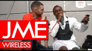 JME on Grime MC album release, family, the industry & streaming – backstage at Wireless