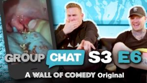 """MAN'S GOT ALIEN FEACES IN HIS MOUTH"" 