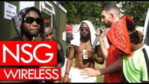 NSG backstage at Wireless, talking success & OT Bop – Westwood