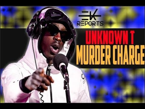 Unknown T Charged With Murder! *BREAKING*