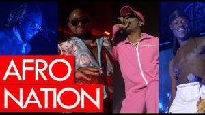 Afro Nation with Wizkid, Davido, Burna Boy, J Hus, Yxng Bane, Tiwa Savage