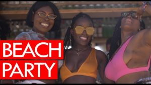 Beach Party gone wild! Afro Nation 2019
