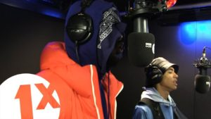 Novelist and SBK in Studio 82 with Jeremiah Asiamah