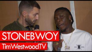Stonebwoy on Ghana & Nigeria, Afrobeats & Reggae, new music – backstage at Afro Nation!