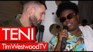 Teni on new songs Billionaire & Marry! Backstage at Afro Nation – Westwood