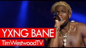 Yxng Bane, Kojo Funds, Michael Dappah at Afro Nation backstage! Westwood