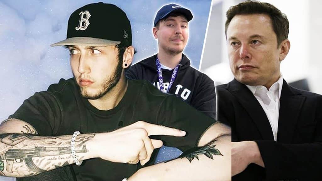 FaZe Banks Messed Up? Party Goes Wrong! Elon Musk Helps MrBeast