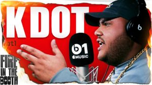 K Dot – Fire In The Booth