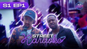 LV & Nush Cope find DRILLERS IN STRATFORD   Street Karaoke EP 1