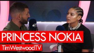 Princess Nokia on Sugar Honey Iced Tea, new album, poetry, train incident – Westwood