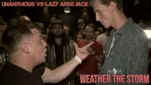UNANYMOUS VS LAZY ARSE JACK | Don't Flop Rap Battle