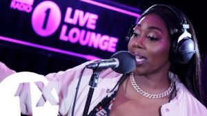 Ms Banks single and Lil' Kim cover performed in the BBC 1Xtra Live Lounge