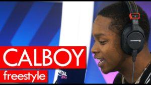 Calboy freestyle 1st EVER! GOES HARD!! Westwood
