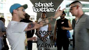 FROST VS KARNI   Don't Flop Rap Battle