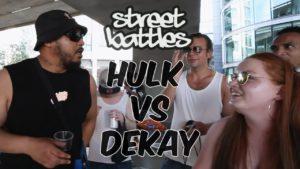 HULK VS DEKAY | Don't Flop Rap Battle