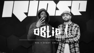 Oblig with Shaqydread (Rinse FM Freestyle)